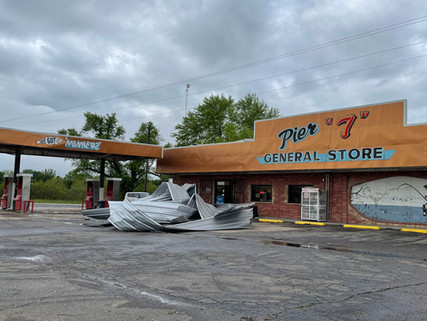 National Weather Service Confirms Two EF-1 Tornadoes from Monday Storms