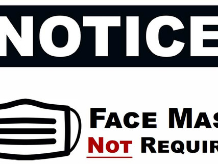 County, City No Longer Requiring Masks in Public Buildings