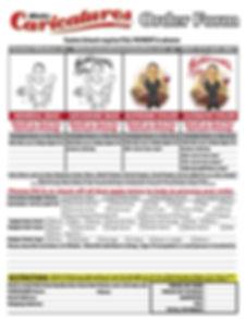 Caricature_OrderForm_14x18_72dpi_NOPRICE