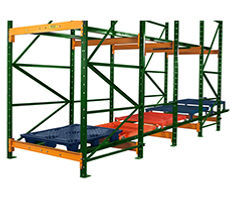push back, drive in rack, warehouse rack