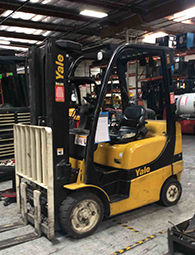 LPG Cushion Yale GLC sit down forklift