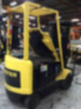 Used forklift Hyster