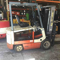 Hyster Electric Sit Down Forklift