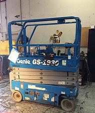 Scissor Lift Genie GS-1930 blue