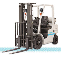 UniCarriers PF Platinum II LPG Pneumatic Forklift front