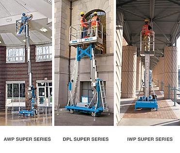 Aerial Work Platform, AWP, DPL, IWP