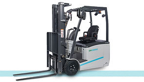 UniCarriers TX-M Ellectric Sit Down Rider forklift front