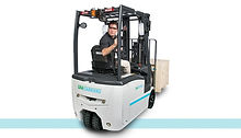 UniCarriers TX-M Ellectric Sit Down Rider forklift back