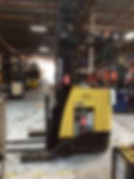 Stand Up reach Hyundai 18BRP-7 forklift