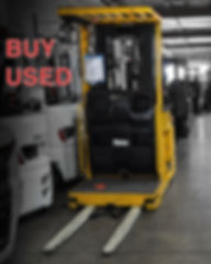 Used Yale Stand Up forklift