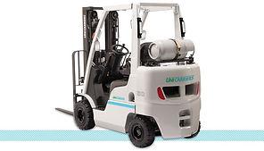 UniCarriers Platinum II Nomad AF LPG Pneumatic Forklift back