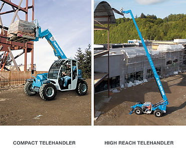 Compact and High Reach Telehander