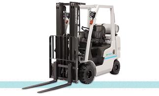 UniCarriers Platinum II Nomad AF LPG Pneumatic Forklift front