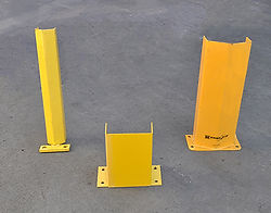yellow rack Protector, pallet rack accessories