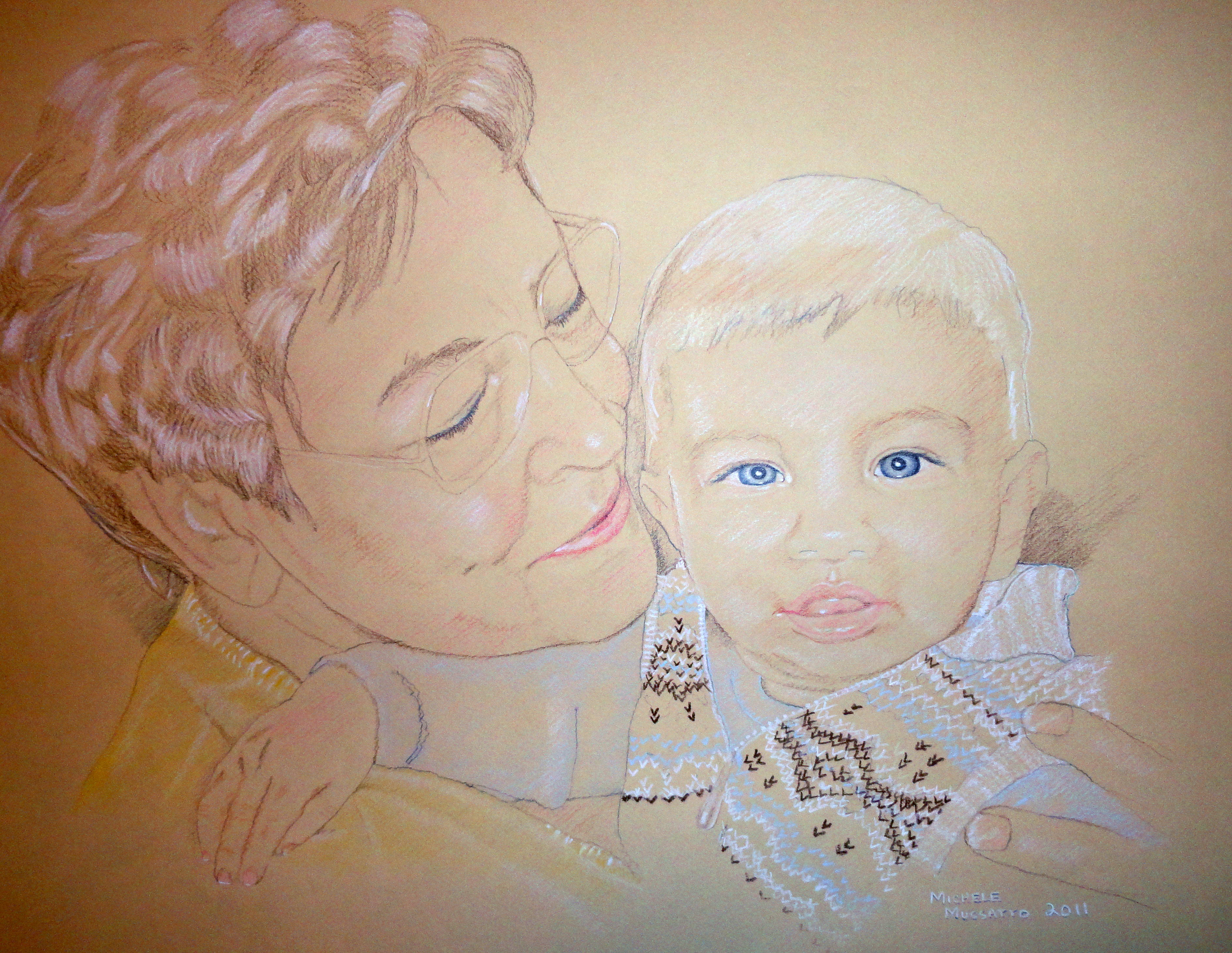 Portrait - Grandma & Owie