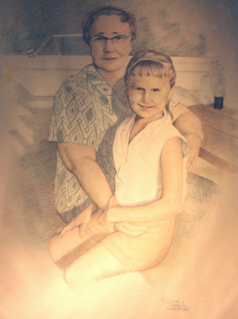 Portrait - Cheryl & Grandma