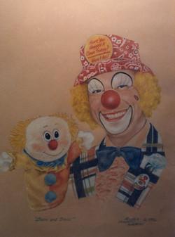 Portrait - Clown