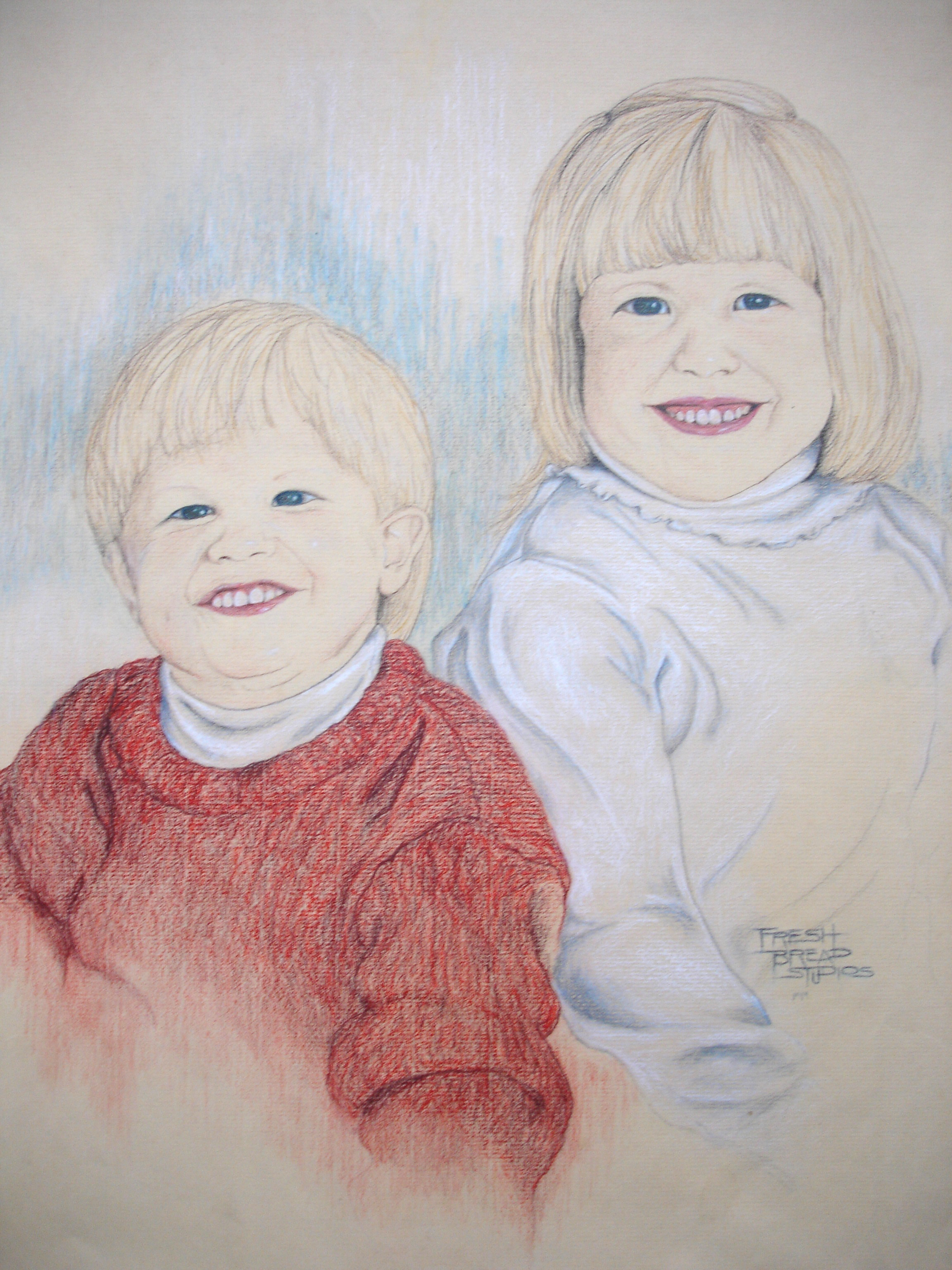 Portrait - boy & girl