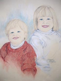 Portrait - boy & girl
