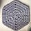 Thumbnail: Sousplast hexagonal