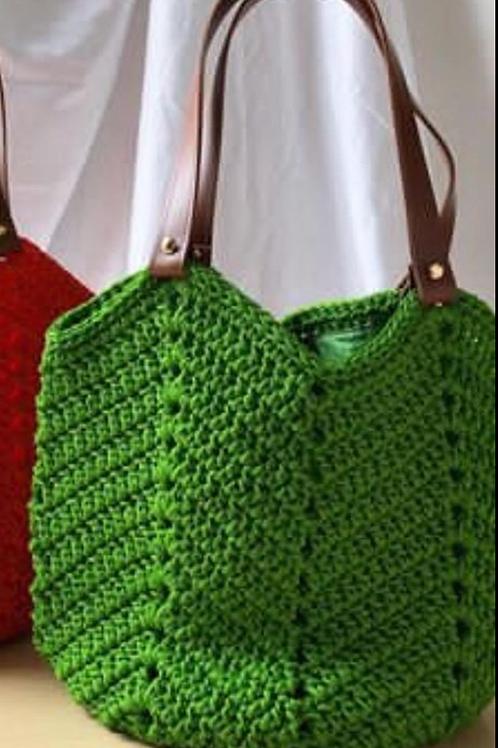 Bolsa Aruba verde pistache