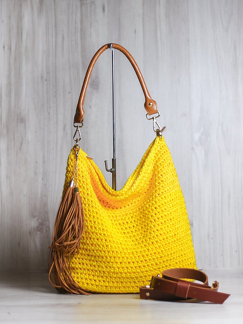 Bolsa Iris amarela