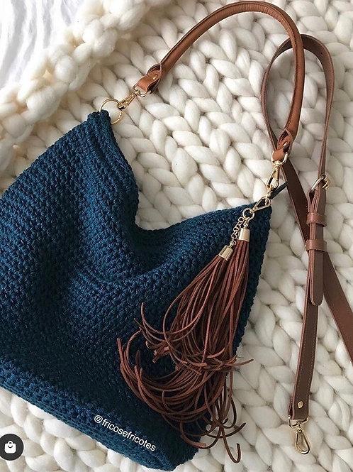 Bolsa Iris azul petróleo
