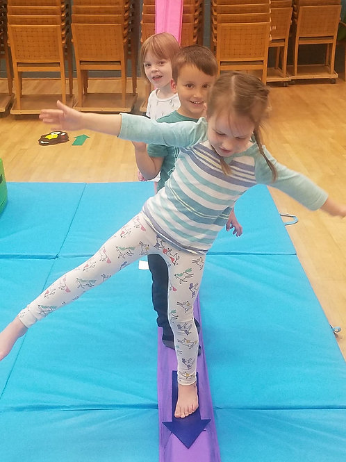 Full Eight Week Session of Gymnastics and Sports Classes with Reflex Sports