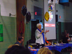 Sister Geraldine speaking