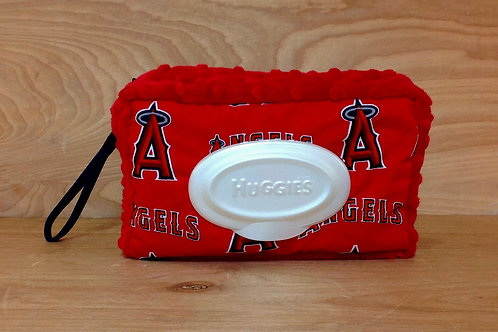 Wipe Case Covers- Angels/ Red