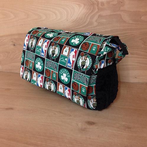 Diaper Bag- Celtics Black ,Diaper bag,Diaper bag Celtics.