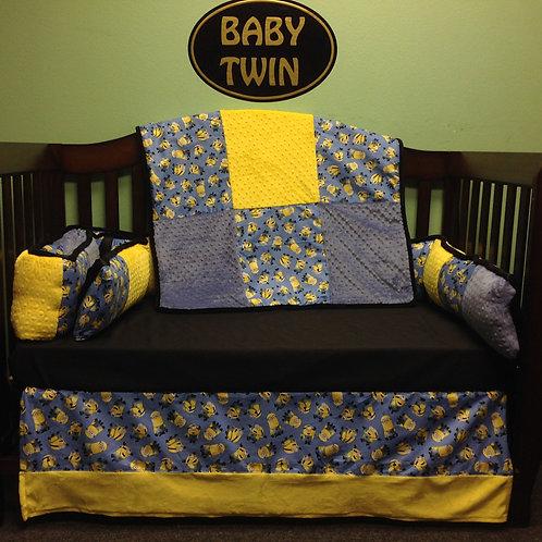 Crib set Miniums,Nursery Bedding Miniums,Home & Living.