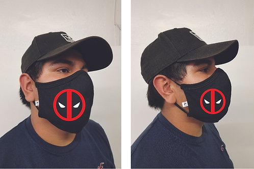 Black Mask (Deadpool) Face Mask