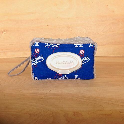 Wipe Case Cover- La Dodgers/ Silver