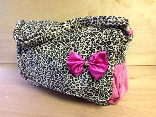 Diaper Bag- Cheetah/ Hot Pink