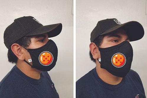 Black Mask (Dragonball Z) Face Mask
