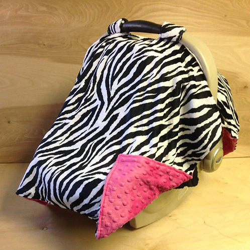 Zebra/Hot pink/ CL