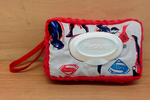 Wipe Case Covers- Superman/ Red