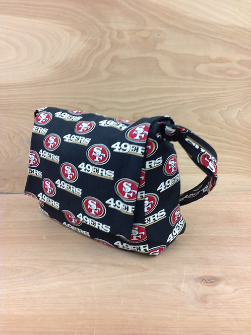 Handbags- Black 49ers