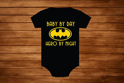 Baby Onesie. Baby Batman. Batman Onesie. Custom Onesie. Bodysuit.