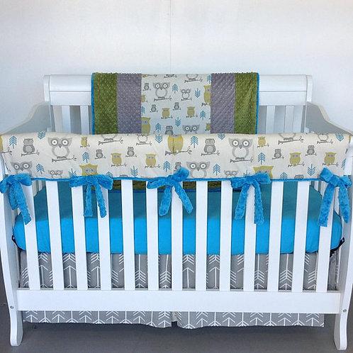 Crib Set / GUARD RAIL- Hooty Summerland