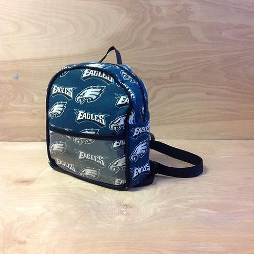 Kid's Mini Backpack- Philadelphia Eagles/ Black