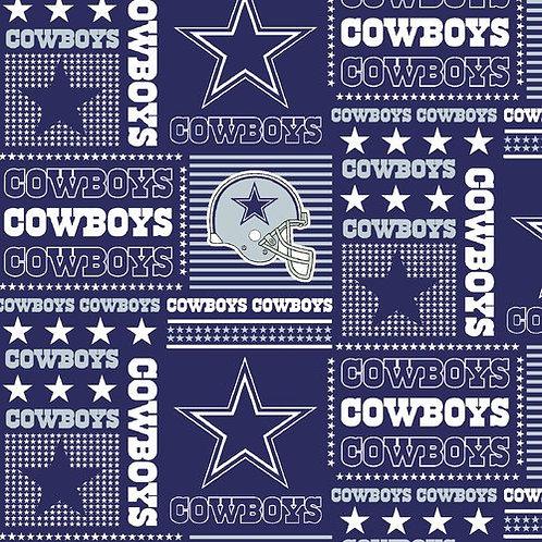 Dallas Cowboys Patched.Cowboys. Cowboys Cotton