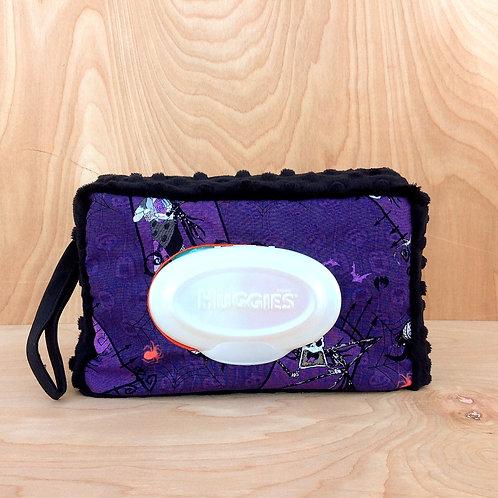 Wipe Case Cover- Purple Jack/ Black