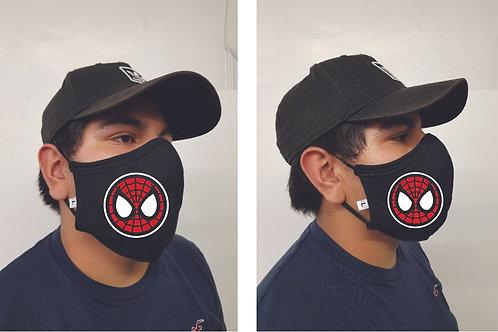 Black Mask (Spiderman) Face Mask