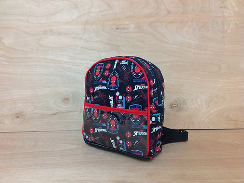 Kid's Mini backpack- Spiderman/ Red