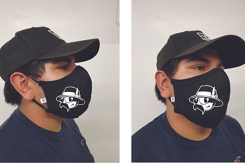 Black Mask (Felix Pachuco) Face Mask
