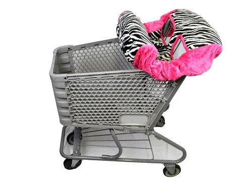 B&W Zebra/ Hot Pink