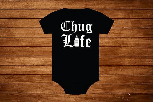 Baby Onesie. Chug Life. Custom Onesie . Budysuit.