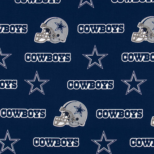 Dallas Cowboys Allover. Cowboys. Cowboys Cotton Fabric